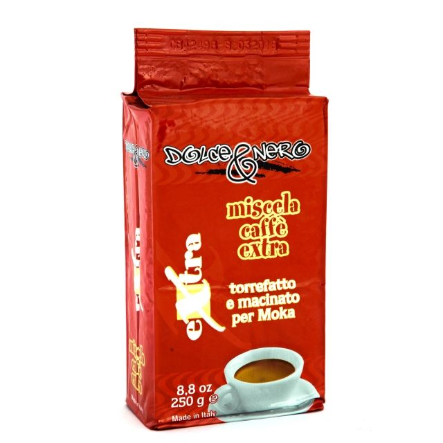 "ITALIAN GROUND MOKA COFFEE ""EXTRA"" 250 gr"