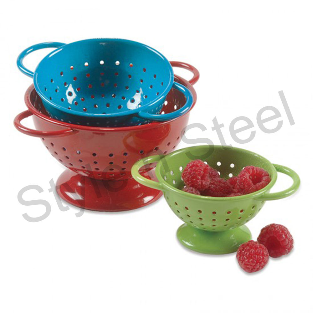 Stainless Steel Colander Full Color
