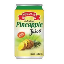 OEM Natural Pineapple fruit Juice Beverage in tin or alu can Thailand