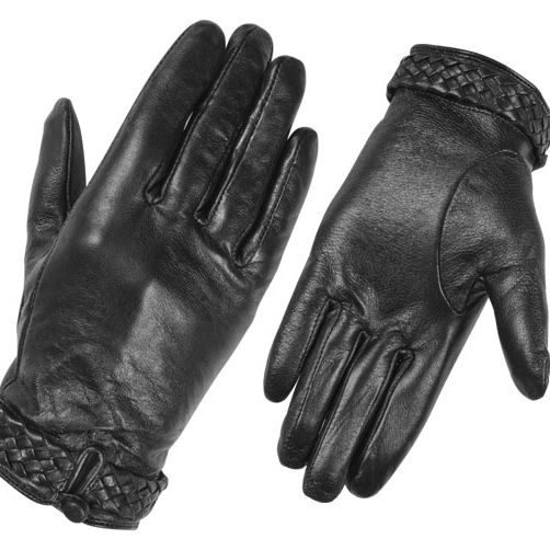 Sheep Leather Fashion Gloves