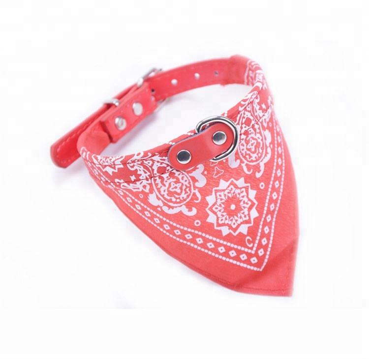Adjustable Strap Pet Accessories Collars Dog Bandana