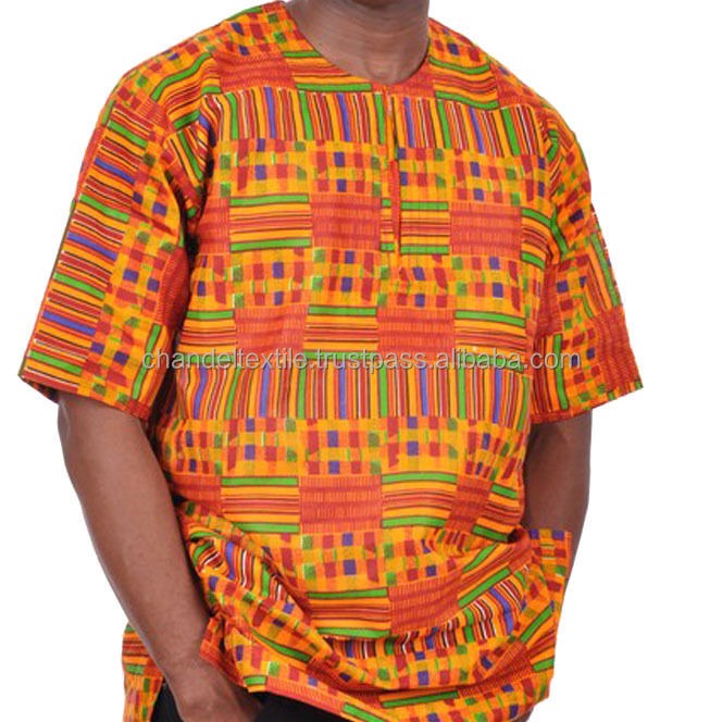 Men Dashiki Kente print Blouse African Women Ethinec Hippie shirt Plus Size Wax fabric Kent print African Print Dashiki Shirt
