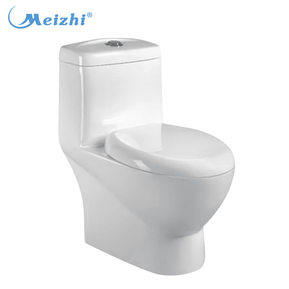 Sanitary ware Siphonic one piece macerator toilet