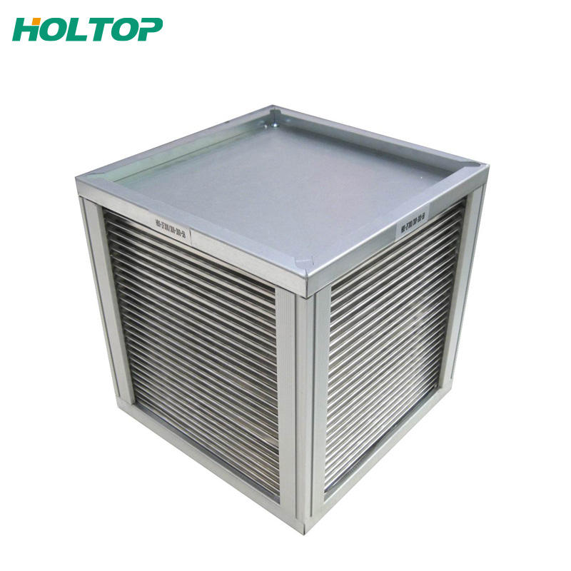 Holtop aluminum heat exchanger core industry price
