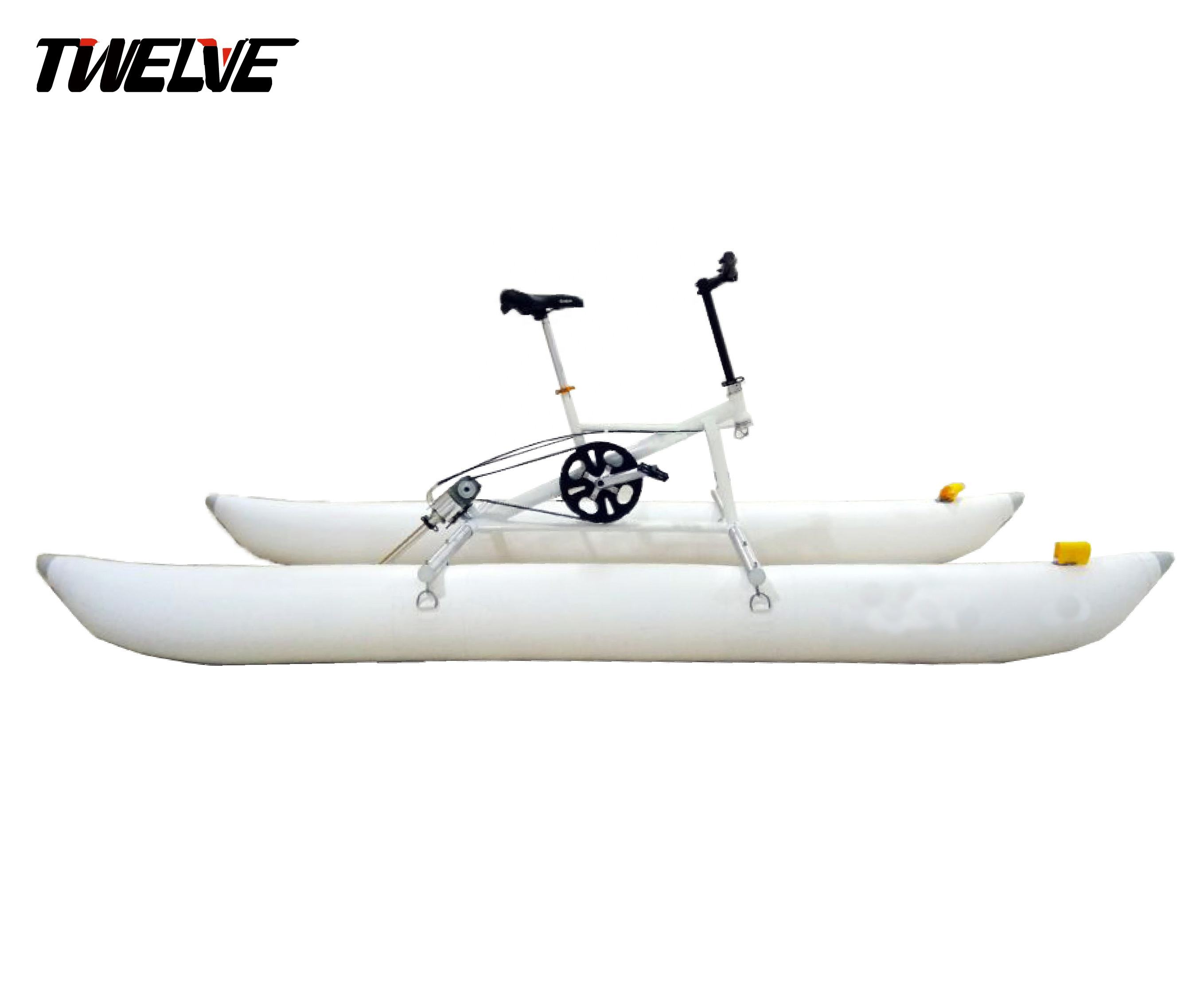 High quality Aluminum alloy water bike for Aquatic park