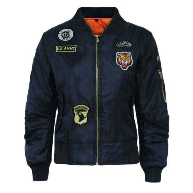 Custom Made 100% Polyester Harvey Satin US Army Bomber Jackets