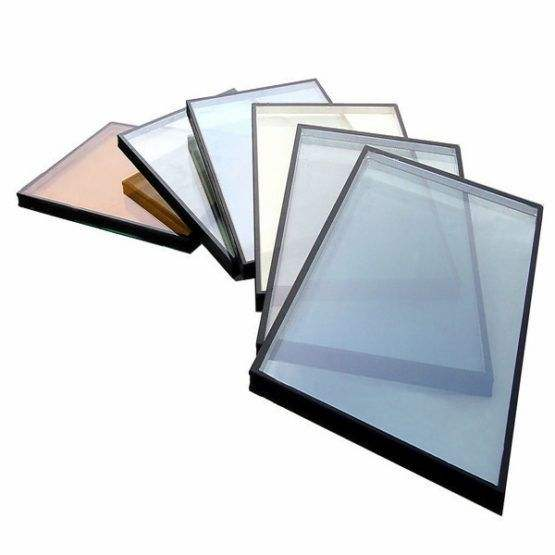 Clear Tinted Reflective Tempered Laminated Double hollow Argon Low-E Insulating wall Glass price