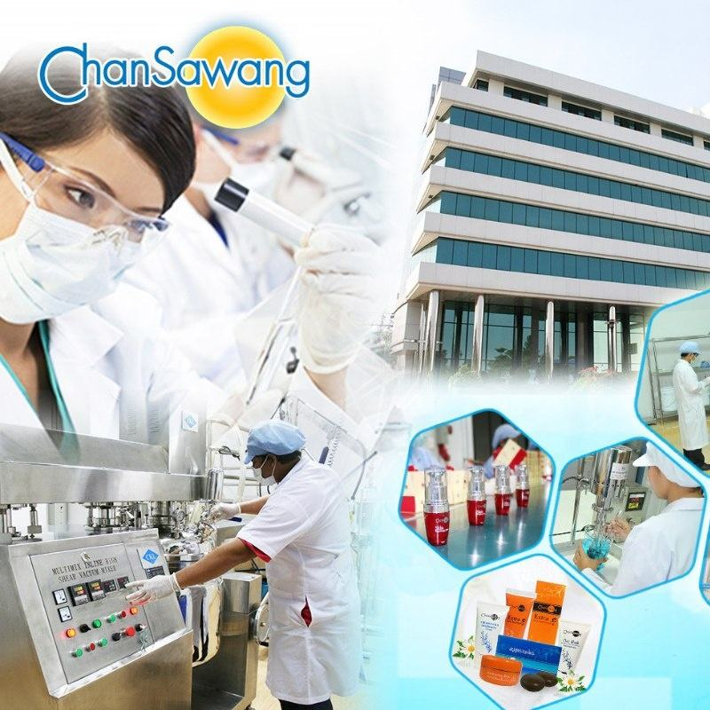 Thailand Skincare Cosmetics Beauty Brand Chansawang OEM/ODM and Private Label Natural Products Manufacturer in Bangkok