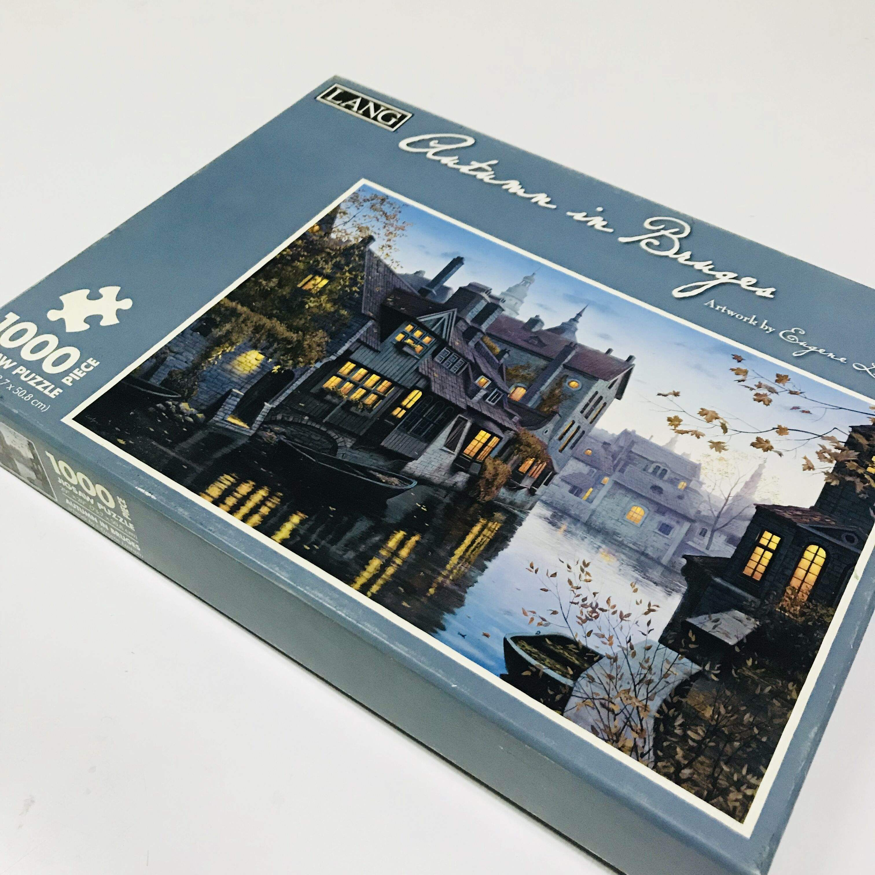 Wholesale Custom Adults High Quality Games 1000pcs Jigsaw Puzzle
