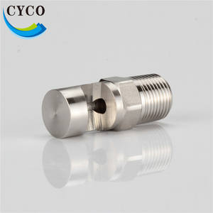 Stainless Steel 1/8 inch Wide Angle Spray Nozzles for Water or Steam