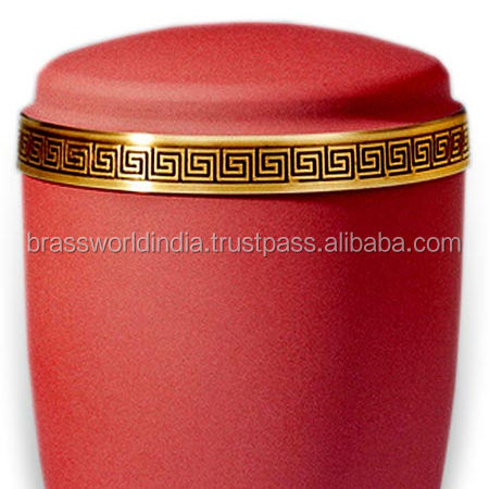 Pink Going Home Brass Cremation Urn By Brassworld India