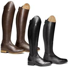 Horse Riding Smooth Leather Knee High Autumn Winter Warm High Mountain Riding Boots