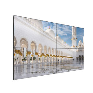 Samsung LG Layar 55 Inch Iklan Digital Panel LCD HD 2X2 Seamless Multi 4 K Layar Sentuh video Wall Display