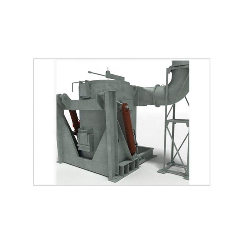 Auto Combustion System Aluminium Melting Furnace for High Output Yield