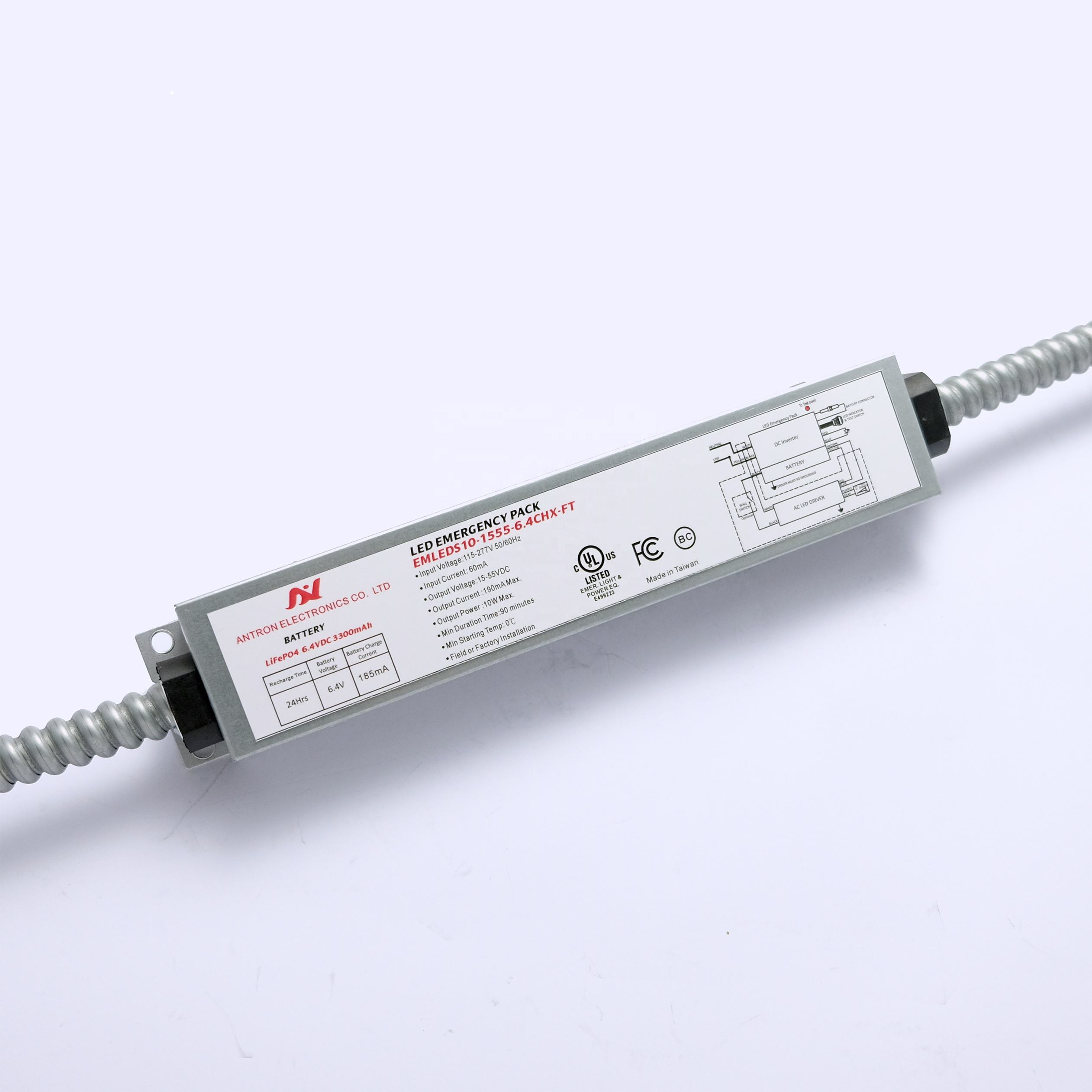 Taiwan Quality 10W LED Bohlam Emergency Driver