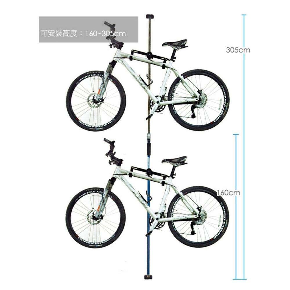 Bicycle Stand Adjustable Height Storage Rack Bike Wheel Hub Display Stand