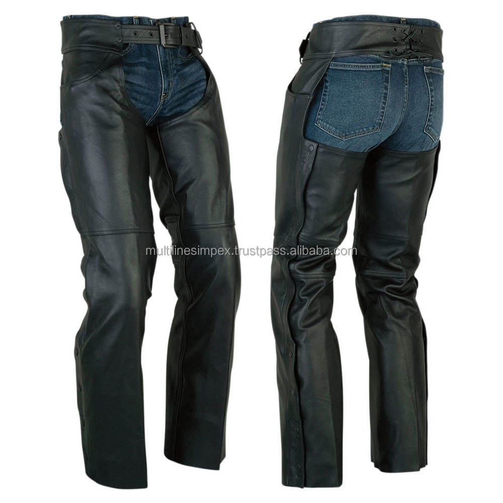 sweat pants Cowhide Leather Chaps