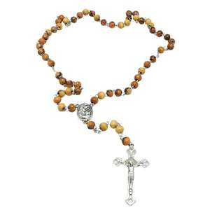 Legno Rosario di preghiere Oliva Legno Santo del Suolo Terra Santa