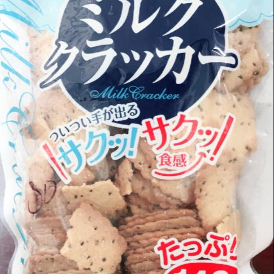 Milk Cracker exported to Japan