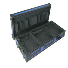 Direct Manufacturer Custom heavy duty cable microphone stand aluminium flight case with wheels