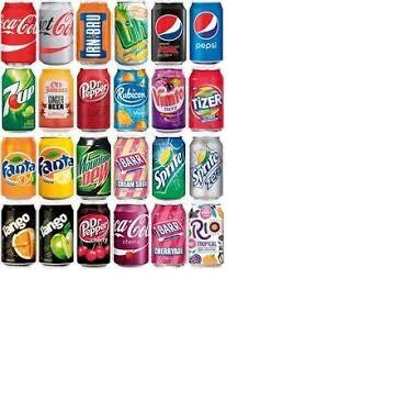 Soft Drinks From Netherlands Coca Cola Fanta Sprite Miranda Dr Pepper