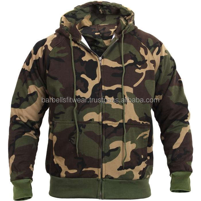 Camouflage Patroon Camo Hoodie