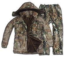 Camouflage suits high quality/custom hunting suits top quality
