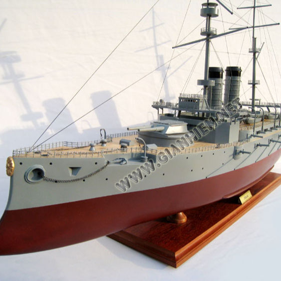MIKASA WOODEN MODEL SHIPS - HANDICRAFT OF VIETNAM