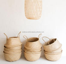 Belly seagrass storage basket/ N laundry seagrass baskets