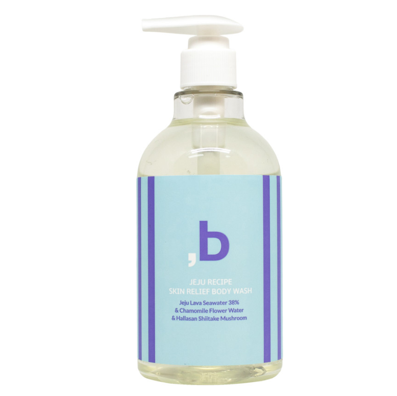 Private Label Koreaanse Huidverzorging ORINBE Jeju Recept Skinrelief Body Wash