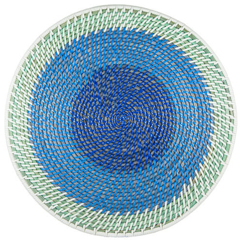 Rattan round plate charger with colors latest product 2019 cheap items to sell wholesale