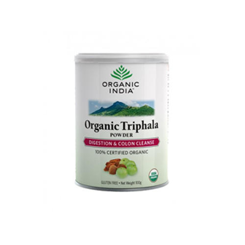 Organic India Triphala Powder 100g - Original Triphala Powder ayurvedic herbal formulations.