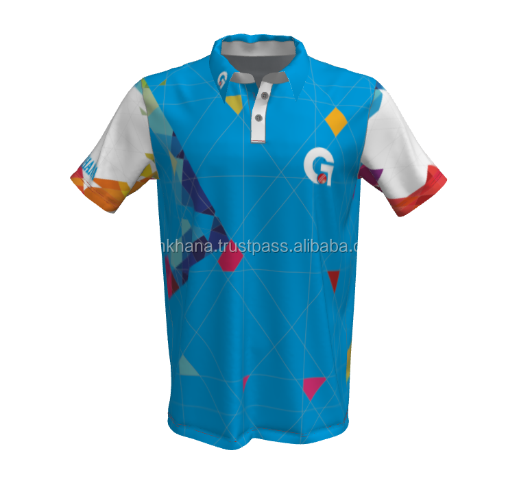 Personalizzato Sublimata Dri Fit Golf Polo, Mens Polo T Shirt