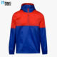 High quality most popular fashion OEM Rainproof 1/4 zip pullover hooded rain jacket reflective hooded jacket