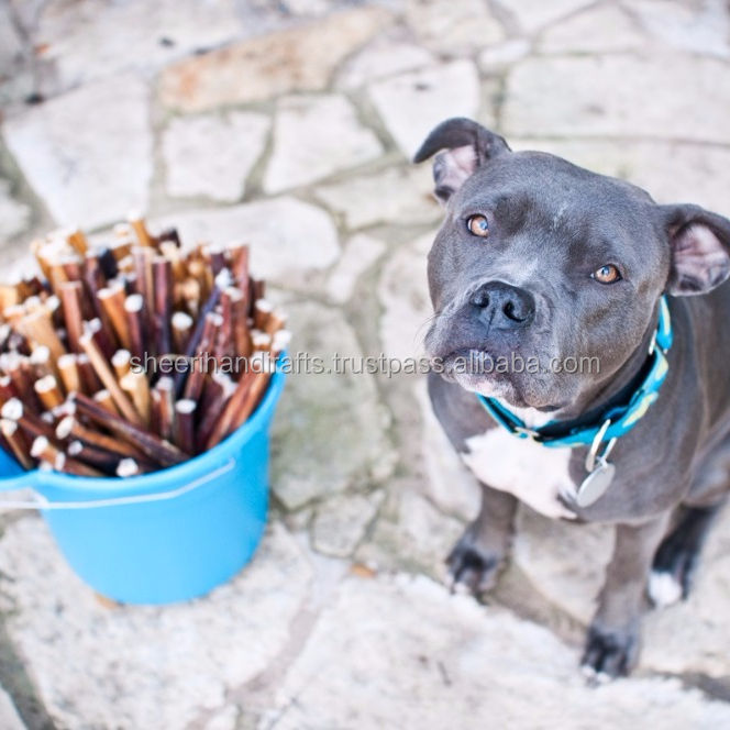 Dog Stick PET Food ORGANIC Chew Bones / Bully Stick in Factory Price Sustainable for Small Animals