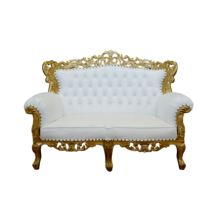 High Quality Furniture Baroque Sofa 2 Seats for Living Room Furniture