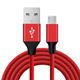 Micro USB Cable 6Ft 2M Nylon Braided USB 2.0 A Male to Micro B Data Sync Charger Cord
