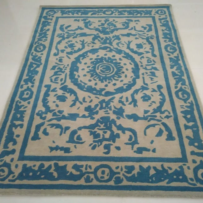 Newly Design Pattern Hand Tufted 100% Wool Carpets And Rugs