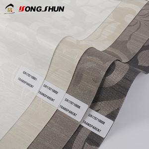 New OEM jacquard 100% polyester coated blackout roller blind fabric