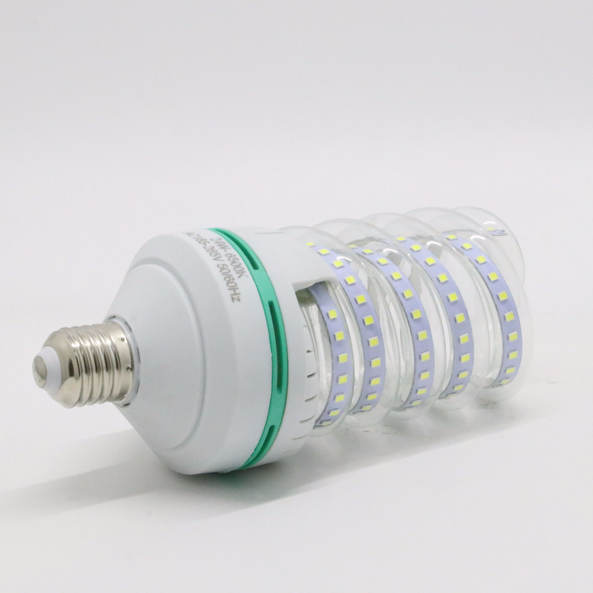 High bright led indoor lighting for factory lighting spiral led energy saving bulbs 5w