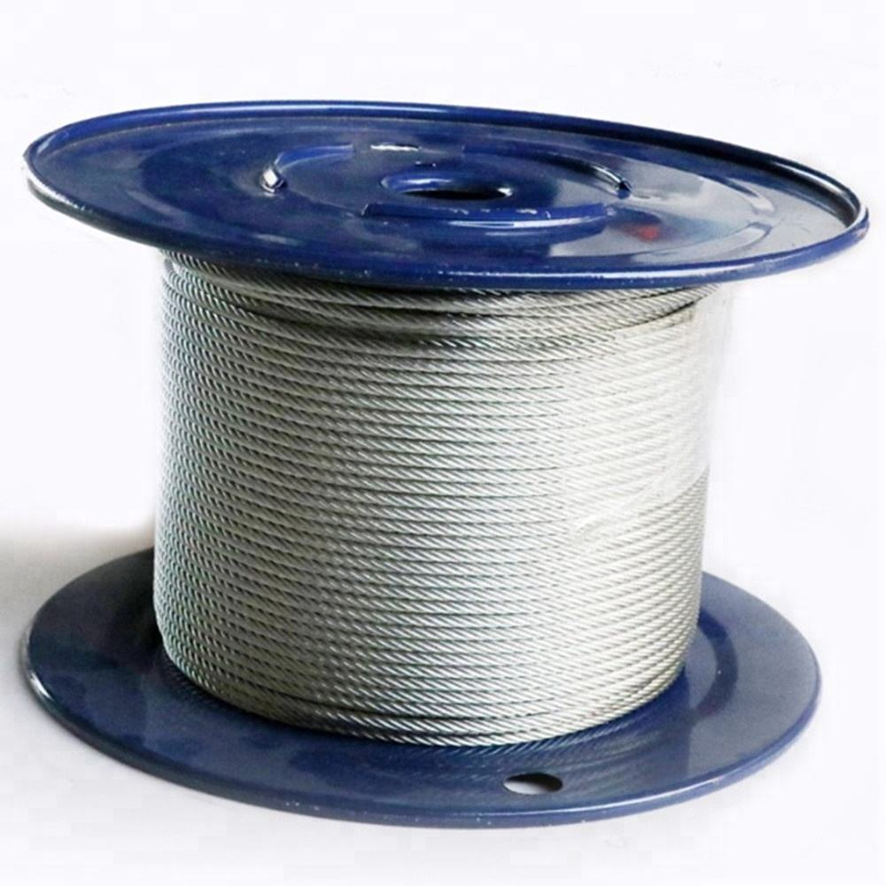 10mm Galvanized steel wire rope for elevator price