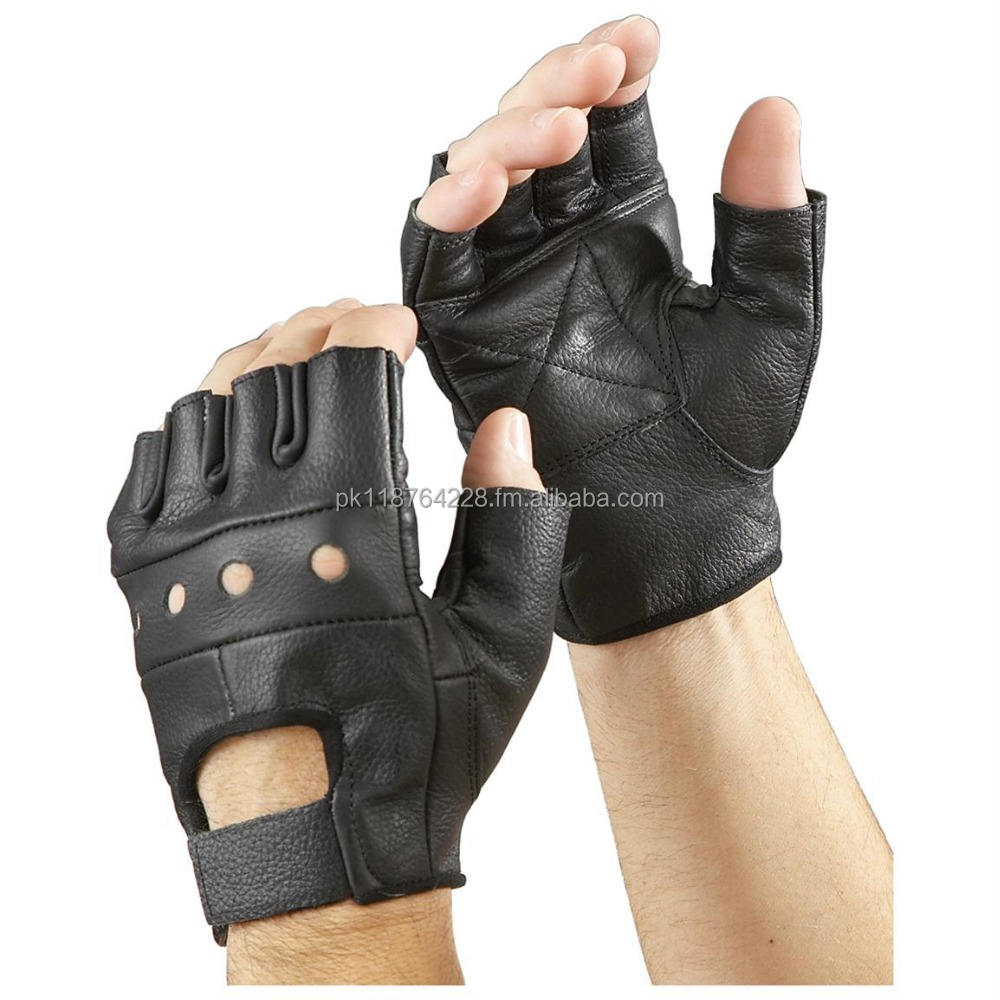 Finger Less Sports Gym Weight Lifting Gloves