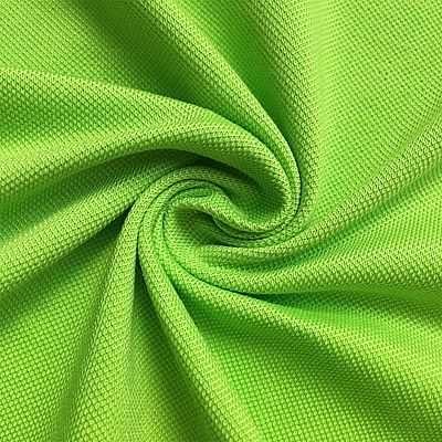 High quality 83% polyester 17% cotton pique fabric - All colors