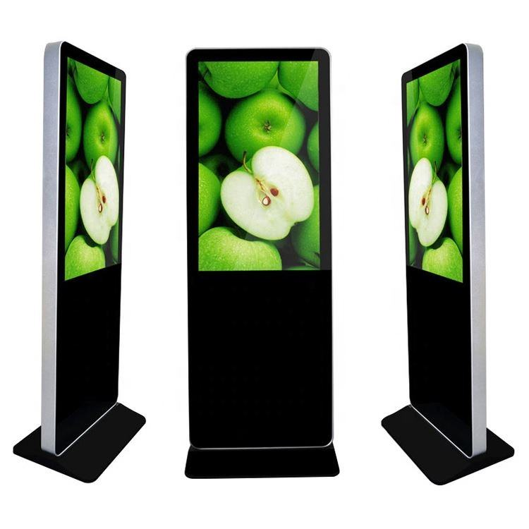 kiosk advertising 55 inch floor stand digital signage Android LCD Advertising Screen Totem with Remote Managing software
