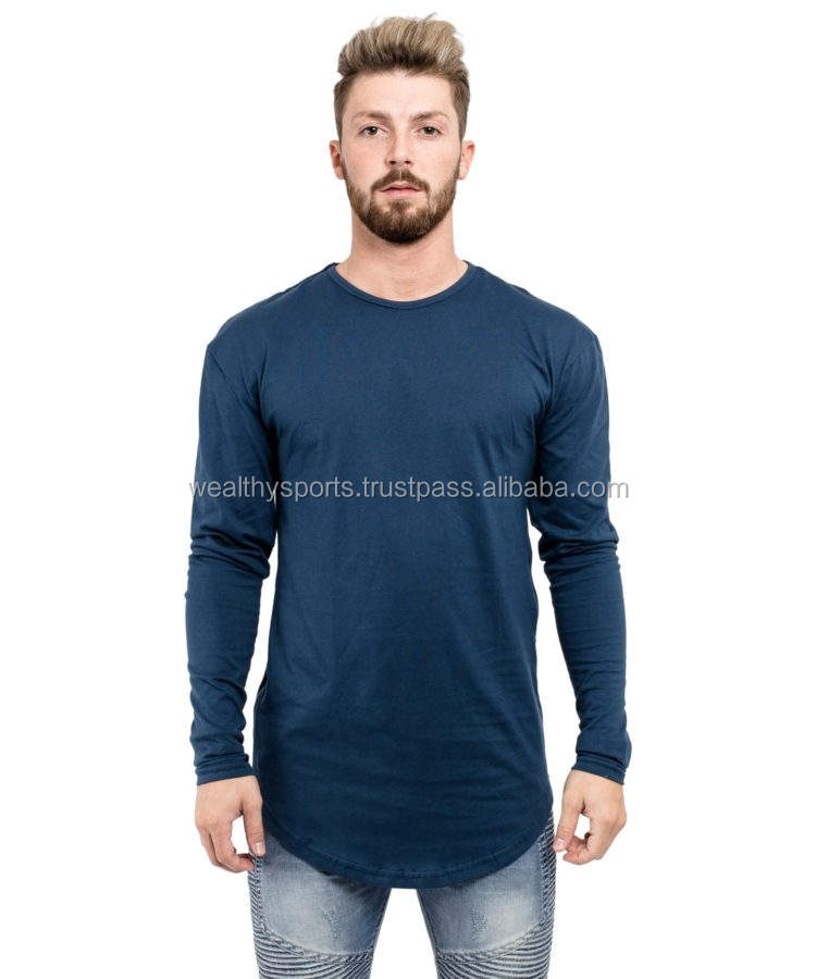 Full sleeve pull neck t-shirts