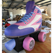 custom giant inflatable shoes,inflatable roller skate for advertising