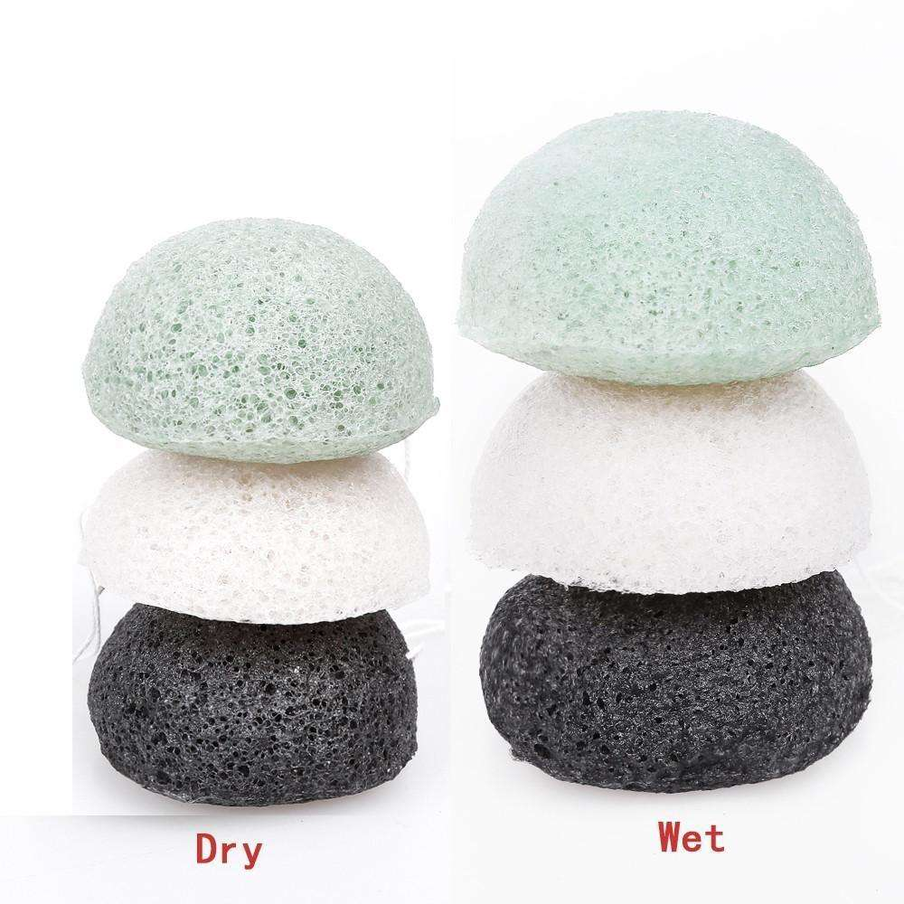 100% Natural Cleansing Sponge Skin Care Facial Makeup Puff Premium Konjac Sponge
