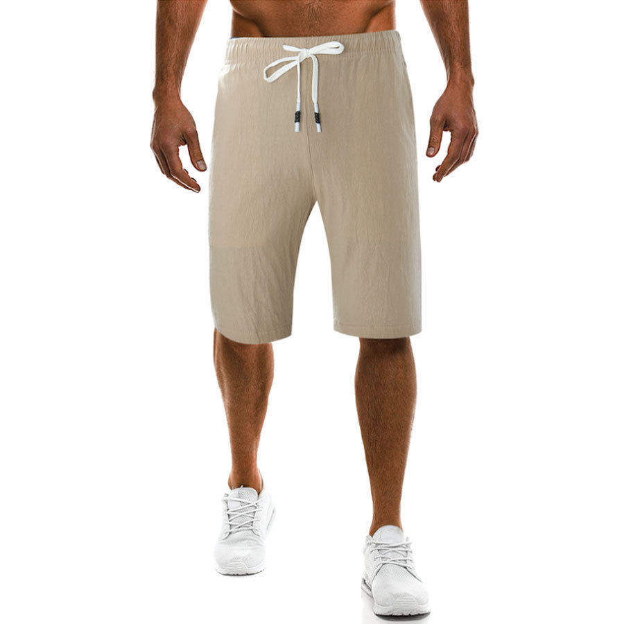 Men Polyester Gym Shorts with Inner Lining