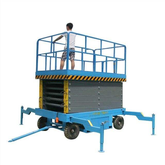 6m Hydraulic Mobile Elevated Platforms/Genie Scissor Lift