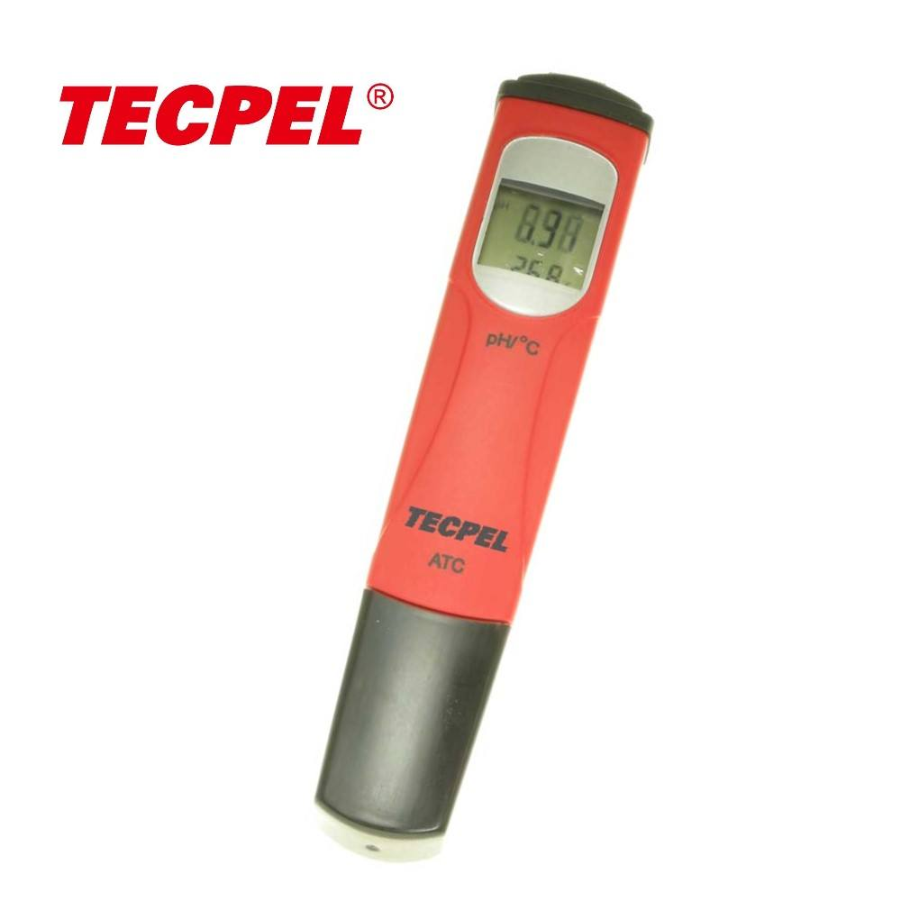 PH-873 Pen type digital handheld pH water tester temperature Tecpel